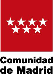 Logotipo de subvención de la Comunidad de Madrid