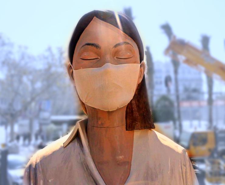 Ninot de Fallas de Valencia sin quemar, Confín del mundo