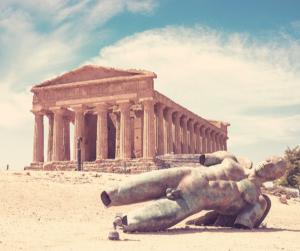 Agrigento, el templo de la conconrdia Silicia