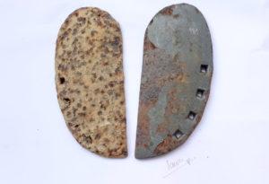 Un souvenir especial de Sanabria, herraduras de buey de 7 agujeros